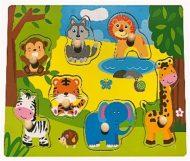 Szafari fa puzzle
