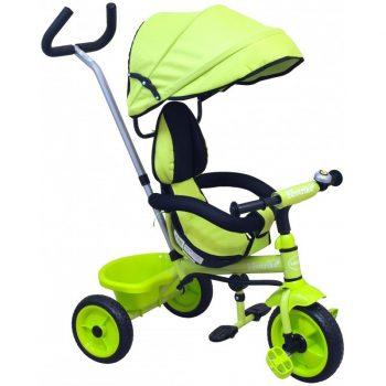 Baby Mix Ecotrike 2 gyermek tricikli zöld színben