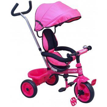 Baby Mix Ecotrike gyermek tricikli pink színben