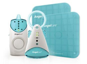 Angelcare kétpados többfunkciós légzésfigyelő 200m hatótávolsággal