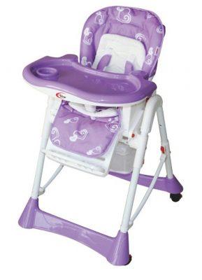 Mama Kiddies Star lila multifunkciós etetőszék + Ajándék