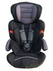 MamaKiddies Turbo autósülés (9-36 kg) szürke-fekete színben