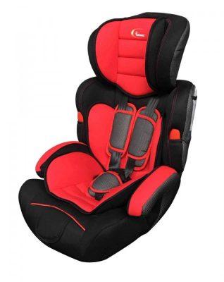 MamaKiddies Turbo autósülés (9-36 kg) piros színben