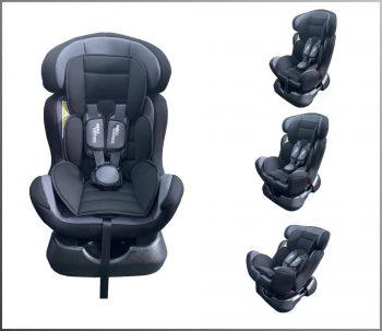 Mama Kiddies Safety Star autósülés (0-25 kg) ezüst-fekete színben