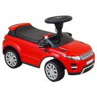 Range Rover zenélő lábbal hajtható autó piros színben