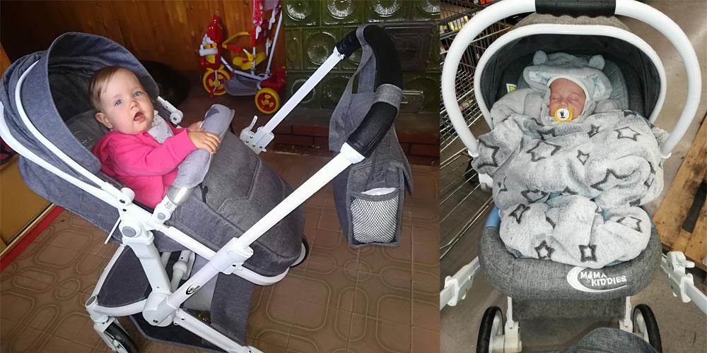 MamaKiddies Fox babakocsi fényképes vásárlói vélemények