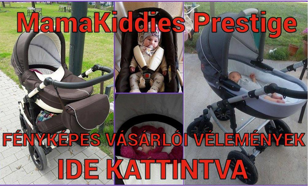MamaKiddies Prestige babakocsi fényképes olvasói vélemények